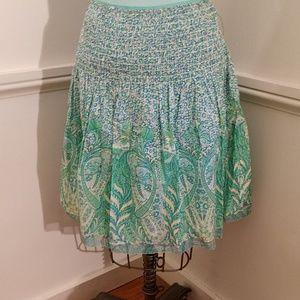 NEW Elie Tahari Cotton Skirt
